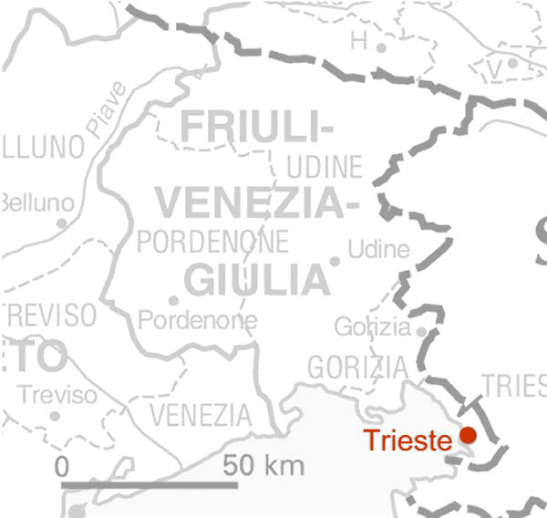 Friuli Italy Map.Italian Language Courses In Italy In The Region Of Friaul